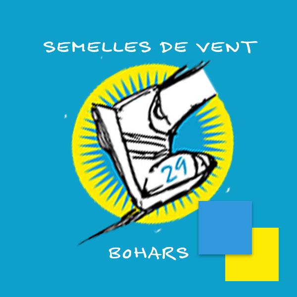 logo du Club les semelles de vent Bohars courses, Trail, Foulées, Cross Brest